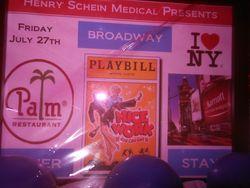 Raffle Broadway Prize